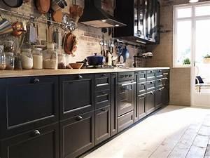 Ikea Facade Cuisine : ikea metod finition laxarby brun fonc ikeaddict ~ Preciouscoupons.com Idées de Décoration