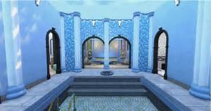 Thermes Romains Antique Terrain Communautaire Sims 4 Spa