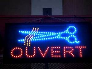 LED sign brighter than neon blinking chasing effect