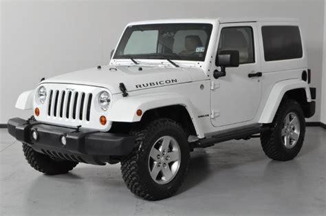white jeep wrangler 2 door 2015 2 door jeep rubicon for sale autos post
