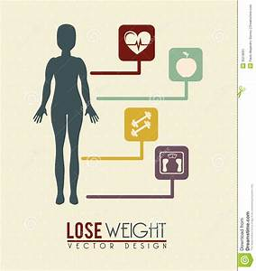 Lose weight stock vector. Illustration of balance, design ...