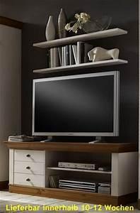 Tv Möbel Landhausstil : tv schrank lowboard fernsehschrank tv tisch kiefer massiv landhausstil wohnzimmer tv m bel ~ Orissabook.com Haus und Dekorationen