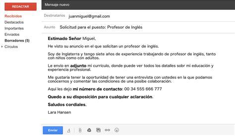 informal letter format spanish sample