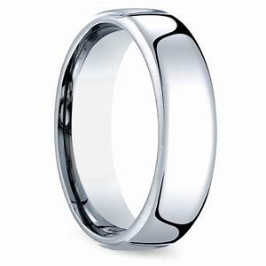 comfort fit men39s wedding ring in cobalt 65mm image 02 With mens wedding rings comfort fit