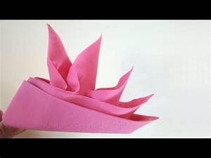 Anleitung Servietten Falten : servietten falten anleitung schiffchen origami mit servietten youtube ~ Frokenaadalensverden.com Haus und Dekorationen