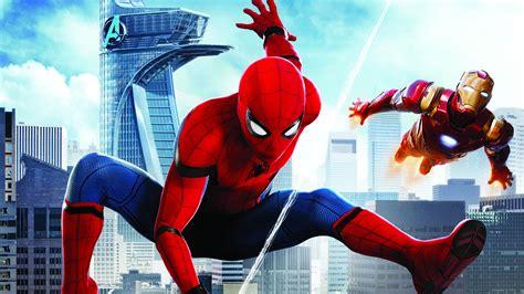 Wallpaper Spiderman Homecoming, Iron Man, Hd, Movies, #11114