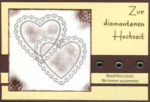 ideen zur diamantenen hochzeit karten zur diamantenen hochzeit irinas kreative welt