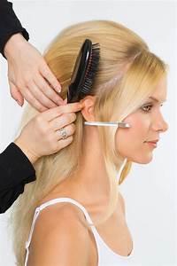 Brigitte Bardot Frisur Style 1 Anleitung: 1 Haare abteilen