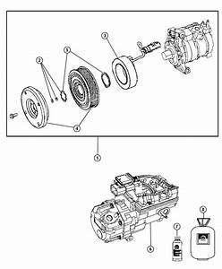 Dodge Durango Compressor  Air Conditioning  Remanufactured