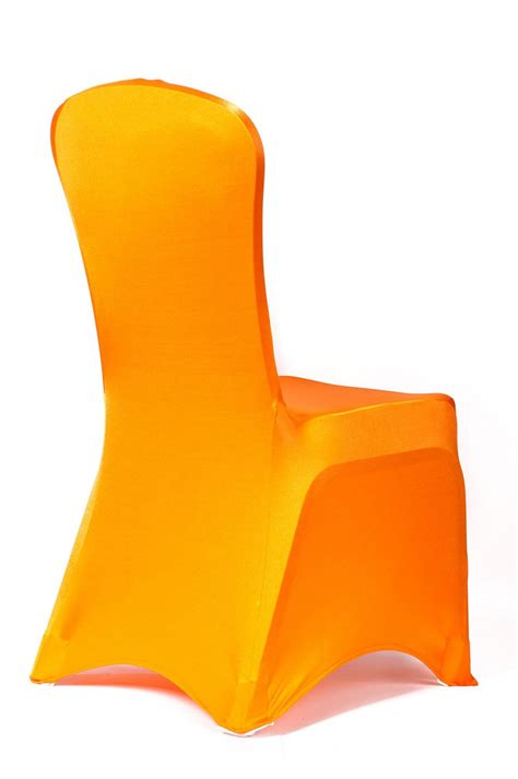 buy orange spandex lycra chair covers lycra