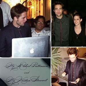 Robert Pattinson and Kristen Stewart Wedding Guest ...