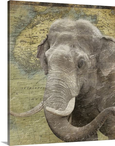 Vinyl, wall art, africa, african wall art, wall decor, africa art, afrocentric home decor, african home decor krowngems 5 out of 5 stars (33) $ 18.99. Elephant on Africa map Wall Art, Canvas Prints, Framed ...