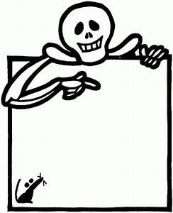 Halloween Clip Art Black And White Skeleton – Festival ...