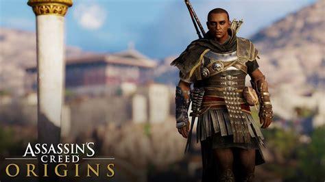 Assassinu0026#39;s Creed Origins - How to Unlock ROMAN VENATOR Outfit (Legendary Gear) - YouTube