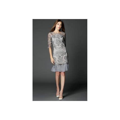 robe de soirée mi longue pour mariage robe chic dentelle robe de soir 233 e robe de cocktail robe