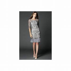 Robe Mi Longue Mariage : robe chic dentelle robe de soir e robe de cocktail robe mi longue robe dentelle robe ~ Melissatoandfro.com Idées de Décoration