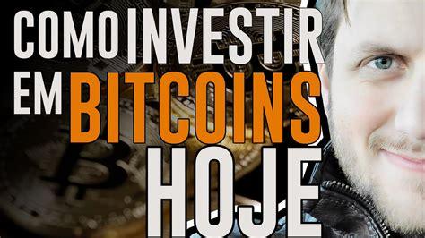 Se você quer saber como investir em bitcoin, considere que o 1º passo é criar uma carteira virtual. Como INVESTIR em Bitcoins HOJE - YouTube