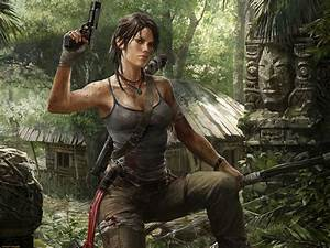 video Games, Lara Croft, Tomb Raider, Gun Wallpapers HD ...