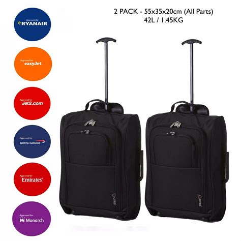 Cabin Approved Luggage Lightweight Luggage Bag Baggage Wheeled Cabin