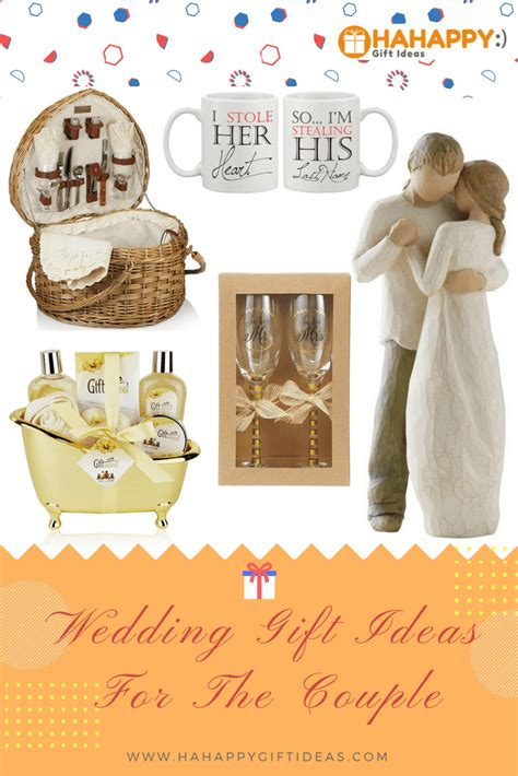 married couple gift ideas 13 special unique wedding gifts for couples hahappy gift ideas