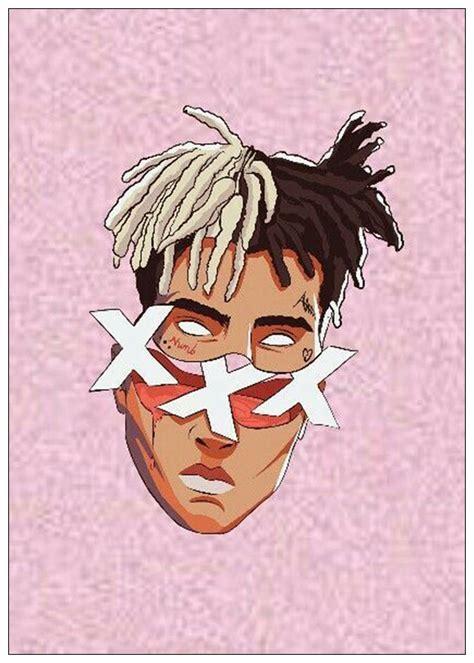 xxxtentacion rap hip hop  star singer art poster