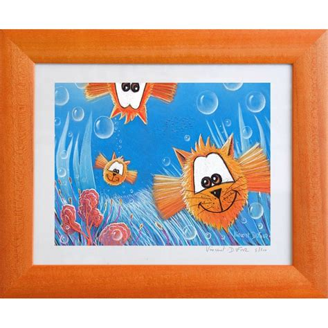 tableau chambre bebe tableau poisson quot dans tous les sens quot tableau chambre