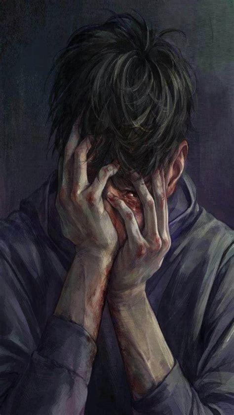 sad anime boy pics wallpaperzenorg