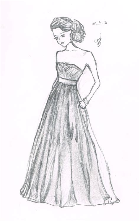 Beautiful Easy Dresses To Draw 6 Maxresdefault Drawing