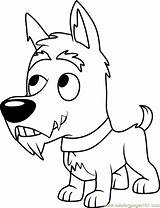 Pound Puppies Coloring Jackpot Pages Coloringpages101 Cartoon sketch template