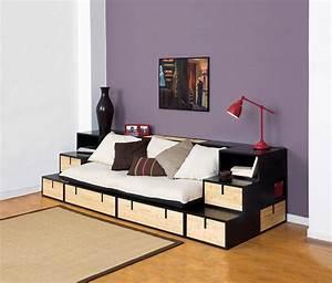 canape lit rangement royal sofa idee de canape et With canapé lit rangement