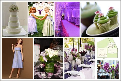 wedding theme purple and green purple and green wedding colors