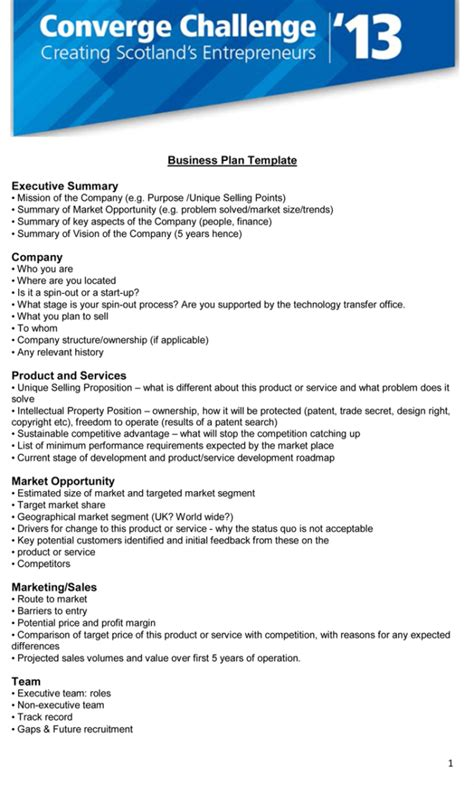 Executive Summary Template 5 Executive Summary Templates For Word Pdf And Ppt
