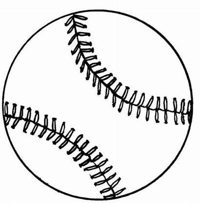 Baseball Coloring Pages Field Cubs Base Printable