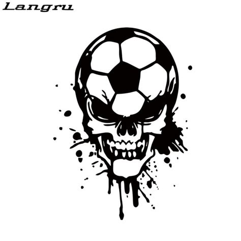 langru cool graphics car stying soccer skull sports game