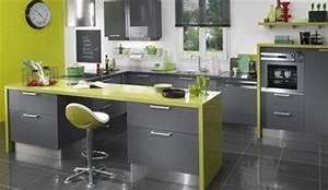 quelle couleur au mur avec une cuisine gris anthracite With quelle couleur associer avec du gris 14 cuisine rouge mur couleur