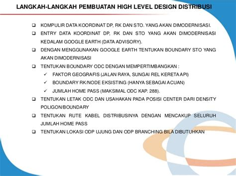 Modul 5 Guidance Hld & Survey Lapangan Ft Tx