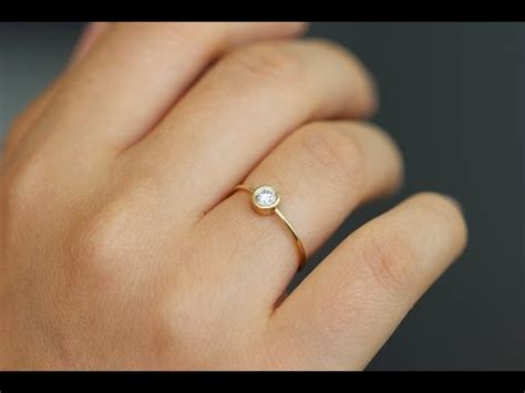 simple engagement rings for ideas youtube
