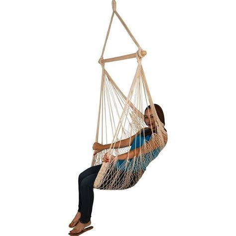 hanging rope chair porch swing garden tree hammock outdoor