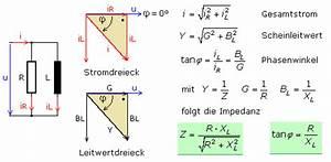 Leistung Berechnen Wechselstrom : zeigerdiagramme und formeln zu rlc schaltungen ~ Themetempest.com Abrechnung