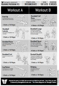 At Home Strength Training Program