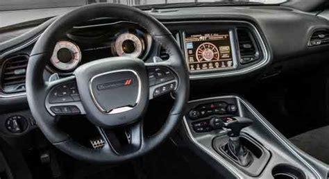 2017 dodge challenger interior lights 2017 dodge challenger t a specs price release date