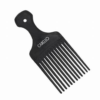 Comb Afro Carbon Combs Salon Care Brushes