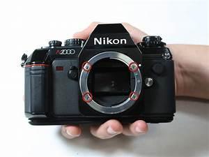 Nikon N2000  F301  Lens Mount Replacement