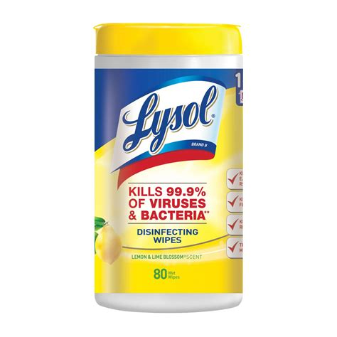 Lysol® 4 in 1: Lysol Disinfecting Wipes | Lysol