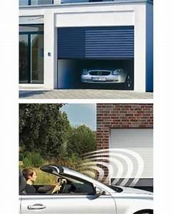 porte de garage enroulable rollmatic hormann la maison With porte de garage enroulable jumelé avec porte blindée picard