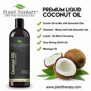 Coconut Fractionated Carrier Oil 4 oz For Aromatherapy or ...