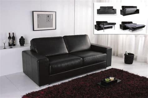 canap cuir noir but canape convertible modulo cuir noir canapé topkoo