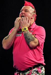 World Darts Championship Peter Wright To Light Up Ally