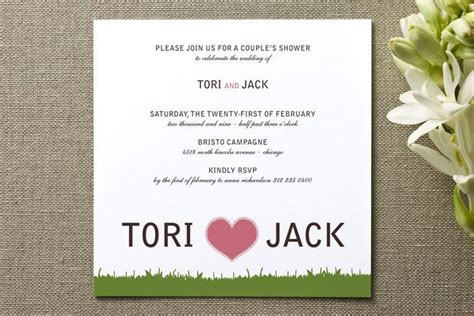 12 Best Images About Cute Couples Shower Invitations On