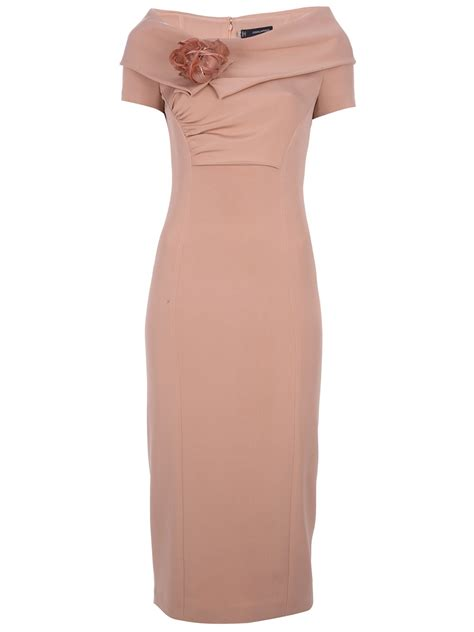 Boat Neck Dress Pink by Dsquared2 Boat Neck Dress In Pink Lyst